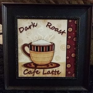 Cafe Latte Wall Art